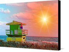 Canvas print of Beach life by the artist JT Digital Art
