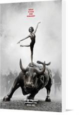 Canvas print of Occupy Wall Street Poster Firesale (Limited Edition) by the artist occupywallstreet