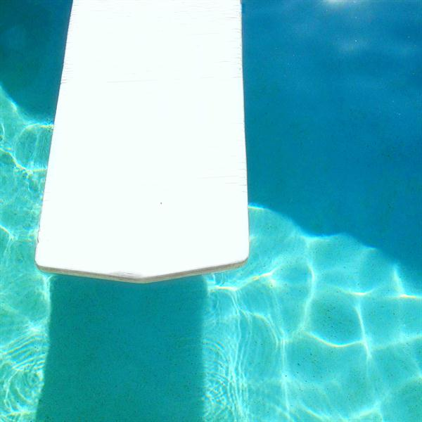 Turquoise Pool Photography - Swimming Pool, Blue Water, White Raft ...