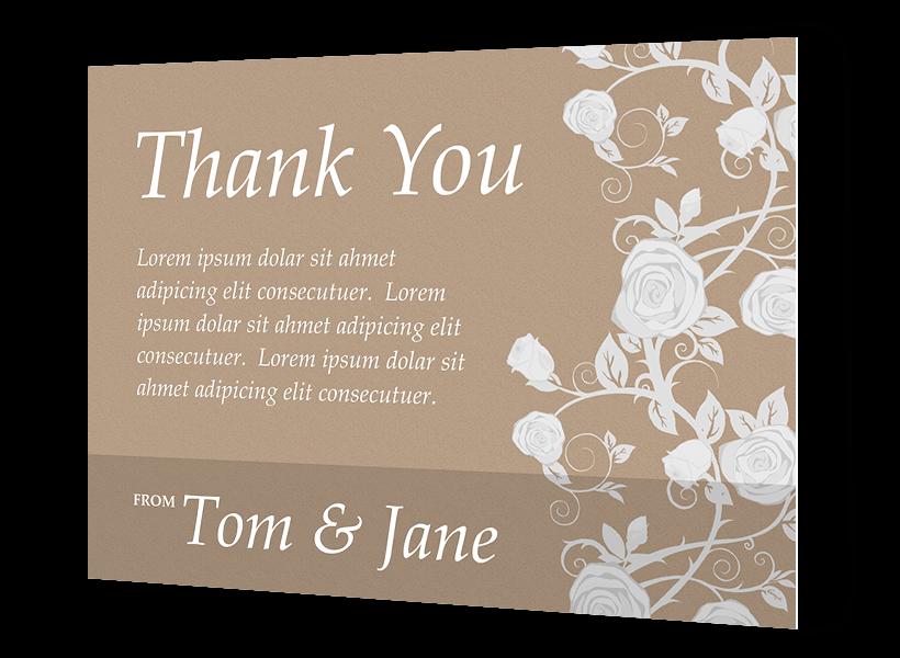 customize thank you cards